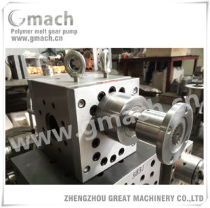 Polymer Melt Pump for Plastic Sheet Extrusion Machine pictures & photos
