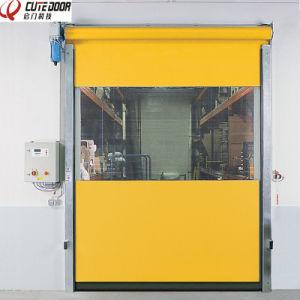 Air Isolation Fast Clean Room Rolling Door High Speed Interlock Door pictures & photos