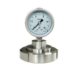 2.5 Inch 63mm Stainless Steel 316L Diaphragm Seal Pressure Gauge pictures & photos