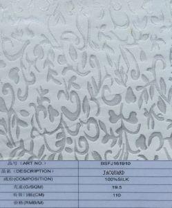 100%Silk Woven Jacquard Fabric/Textile (BSFJ161910) pictures & photos