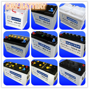 Lead-Acid Car Dry Charged Battery Price pictures & photos
