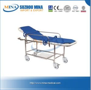 Plastic Bed Base and Emergency Stretcher Cart (MINA-ZB14-A)