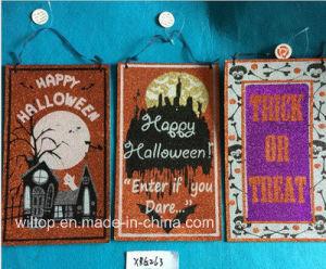 Halloween Glitter Paper Doorknob Hangers (DH003) pictures & photos