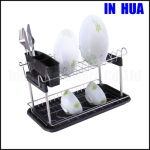 Two Layers of Kitchen Ware Dish Rack