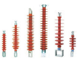 Railway Pillar Composite Insulator High Voltage Electric Power Transmission