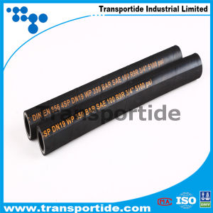 Single and Double Wire Braid Compact High Pressure Hydraulic Hose 1sc/2sc pictures & photos