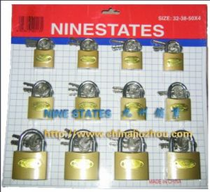 Imitate Brass Padlock with Skin Card (BT253238) pictures & photos