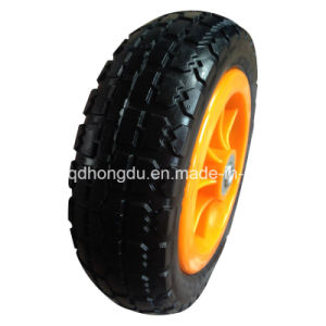 13 Inch PU Foam Wheel with Metal Rim pictures & photos
