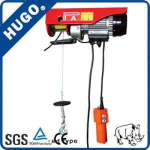 Hugo Brand PA200 Small Mini Electric Wire Rope Hoist pictures & photos