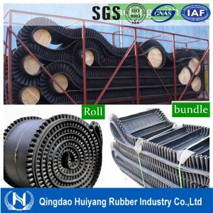 Good Quality Large Angle Corrugated Sidewall Conveyor Belt Price pictures & photos