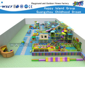 Indoor Castle Plastic Toys Soft Playgrounds (HD-0144) pictures & photos