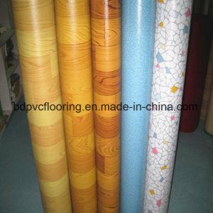 Plastic Linoleum Flooring 0.35mm 1.2mm PVC Flooring pictures & photos