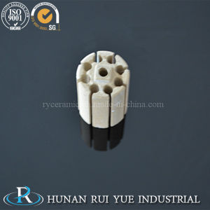 High Heat Resistance Electrothermal Ceramic Cordierite Bobbin Heater Part pictures & photos