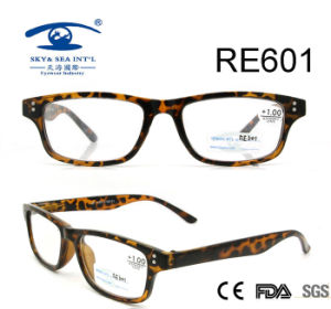 Demi Brown Patch Custom Reading Glasses (RE601) pictures & photos