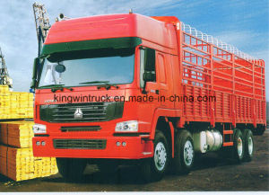 HOWO Brand 8X4 Driving Type Cargo Truck pictures & photos