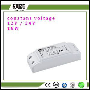 18W 12V, DC24V 18W, up to 20W Plastic LED Driver, 20W LED Power Supply pictures & photos