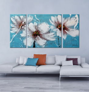 Home Interior Decoration Flower Painting