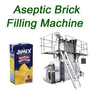Automtic Aseptic Juice Filling Machine Brick Shaped pictures & photos
