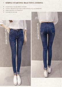 Slim Jeans for Women pictures & photos