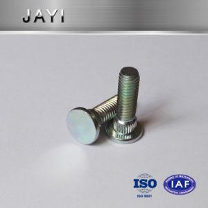 Pressing Rivet Screw, Straight Knurling, Zinc Plated, M5 Machine Screw pictures & photos