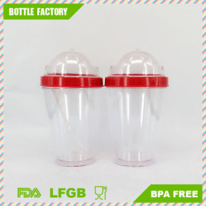 BPA Free Yogurt Cup with Semi-Circular Cover pictures & photos