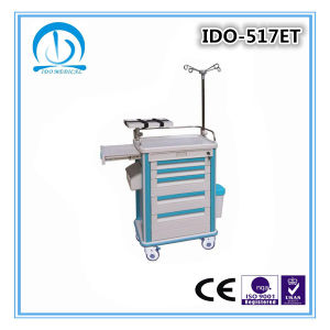 Hospital Medical Emergency Trolley pictures & photos