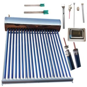 High Pressure/Pressurized Solar Energy Hot Water Heating System Vacuum Tube Solar Collector Water Heater pictures & photos