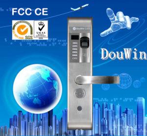 Hot Sale Electronic Fireproof Grade Fingerprint Digital Door Lock pictures & photos