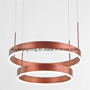Modern Art Pendant Light with Double Layer pictures & photos