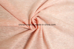T/C/R 50/25/25, 150GSM, Snow Yarn Single Jersey Knitting Fabric for Lady Garment pictures & photos