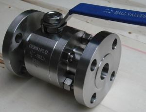 Forged Steel Ball Valve Flange pictures & photos