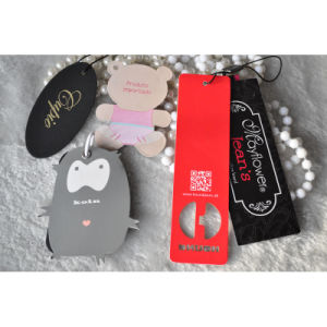 Customize Kinds of Fancy Cute Hangtag for Kids Clothing pictures & photos