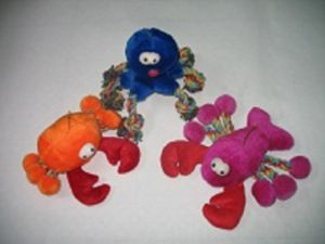 Dog Rope Toy Plush Animal Octopus, Lobster and Crab pictures & photos