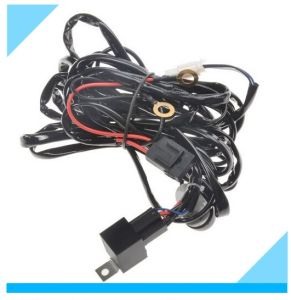 Factory Custom Xenon HID Wire Harness Fog Light Wire Harness pictures & photos