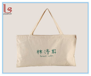 Eco-Friendly OEM Natural Packaging Bags Wholesale Pillow Cotton Carry Bag pictures & photos