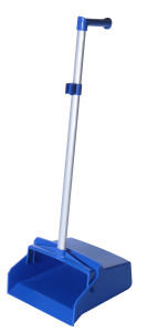 Lobby Dustpans with Aluminum Handle/Broom Set (YYPD-002) pictures & photos