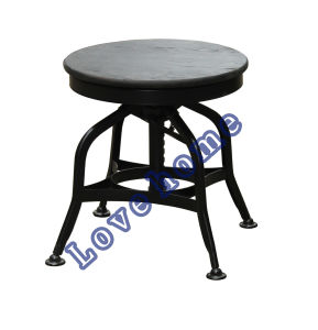 Modern Industrial Restaurant Turner Vintage Toledo Wooden Counter Bar Stools pictures & photos