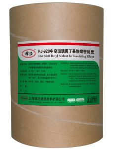 Fj-920 Hot Melt Butyl Sealant for Insulating Glass pictures & photos