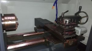 Flat Bed CNC Lathe with Box Guide Rail pictures & photos
