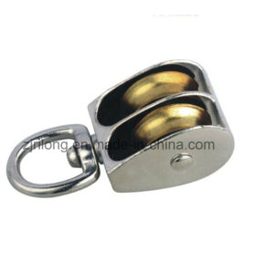 Double Swivel Eye Zinc Alloy Pulleys pictures & photos