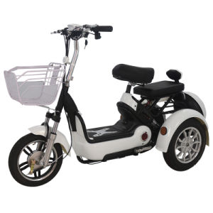 Hot Sale Three Wheel Electric Scooter for Elderly People 500W pictures & photos