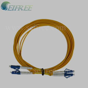 Single Mode LC to LC Optical Fiber Patch Cord pictures & photos