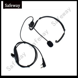 Two Way Radio Boom Mic Headset for Baofeng UV-5r pictures & photos