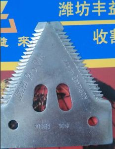 Spare Parts of Combine Harvester Agriculture Knife Blade