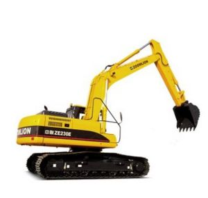 Ze230e Strong Power Long Boom Excavator