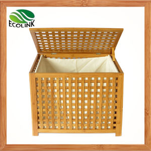 Bamboo Weaving Storage Hamper / Laundry Hamper / Laundry Basket pictures & photos