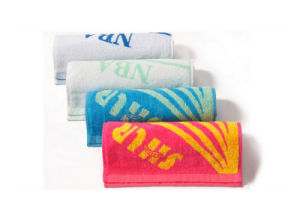 Factory Cotton Dyed Custom Dry Fit Newest Absorb Sweat Towel pictures & photos