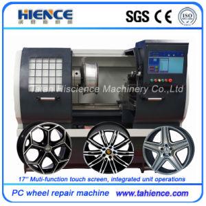 Car Alloy Wheel Repair Diamond Cut Rim Refurbishment Machine Awr2840PC pictures & photos