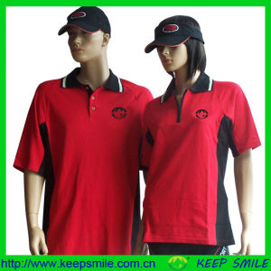 Custom Cotton Polyester Knitted Clothing for Uniform pictures & photos