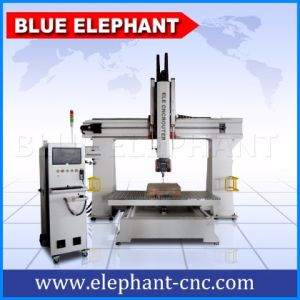 Ele1224-5 Axis CNC Router 3D Wood Engraving Machine pictures & photos